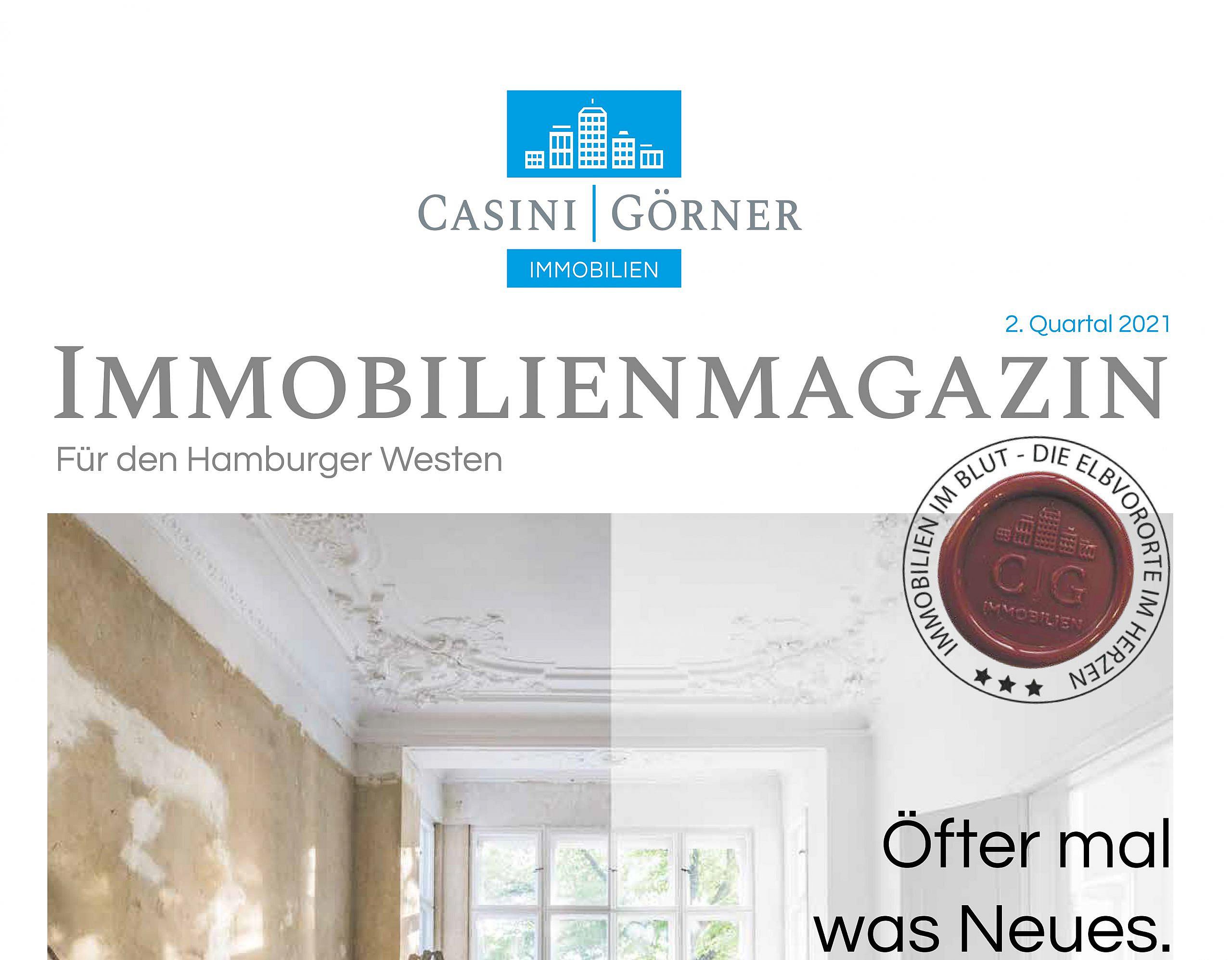 Unsere Immobilienzeitung: Die neue Ausgabe ist da!